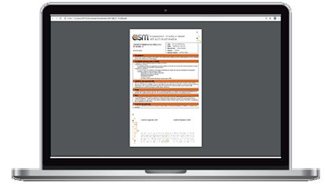 Dux CRM Impression d'un Contrat d'Abonnement