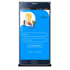 connexion dux-mobile ERP Tunisie