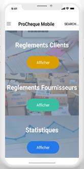 Dux Mobile Module d'impression des chèques