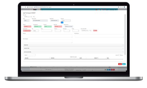 Dux CRM tickets Support